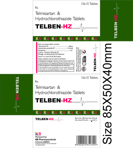 TEELBEN HZ TABLETS