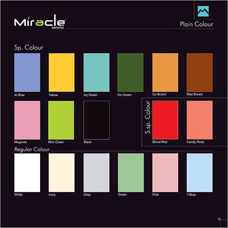 Plain Colour Tiles