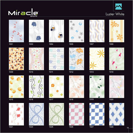 Luster White Tiles