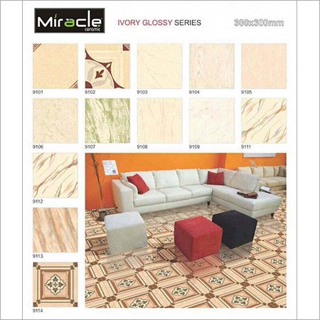 Ivory Glossy Series Tiles