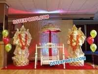 Fiber Ganesha Statue for Decoration