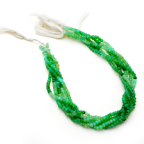Chrysoprase 3-4mm Beads Strand