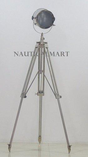 Modern Nautical Tripod Spot Light Search Light Floor Lamp Home Decor