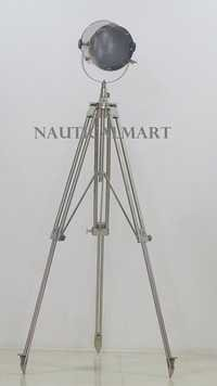 Modern Nautical Tripod Spot Light Search Light Floor Lamp Home Decor