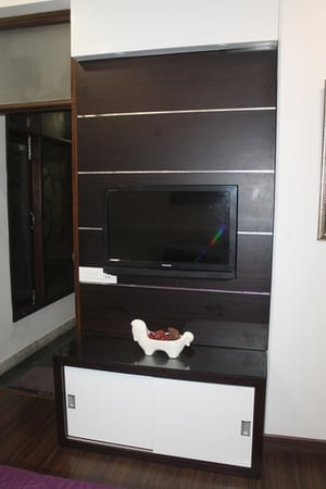 Wooden LED Stand Furniture