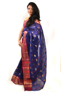 Cotton Saree with Pata Buti