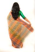 Kuchi Anchal Saree