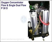 OXYGEN CONCENTRATOR FLOW/SINGLE DUAL FLOW
