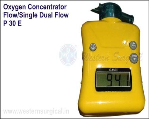 OXYGEN CONCENTRATOR FLOW/SINGLE DUAL FLOW