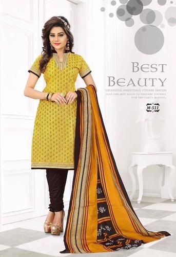 Wholesale Cotton Dress Materials Suppliers Jetpur