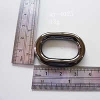 Hardware Fittings Oval Rings Gun Metal
