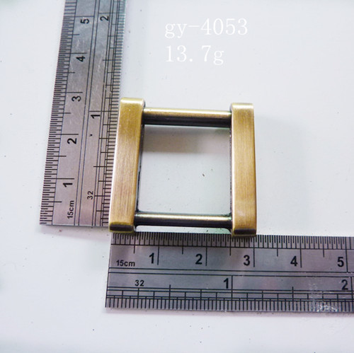 Antique Brass Square Rings Luxury Bags' Fittings