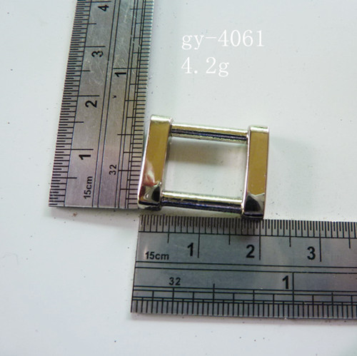 Square Ring White Nickel