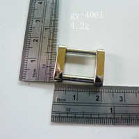 Square Ring White Nickel