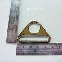 Triangle Rings Nickel Handbags Decoration