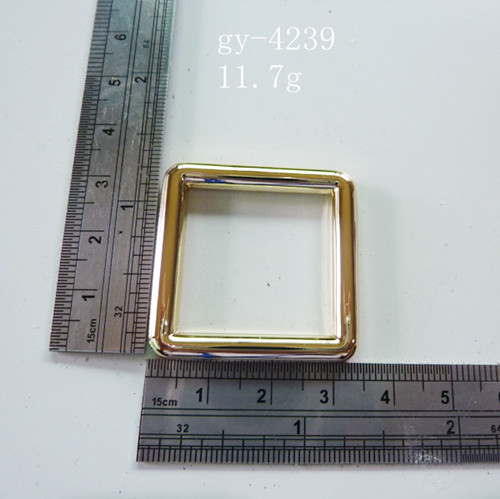 Square Ring Polished 25Mm Handbags' Fittings