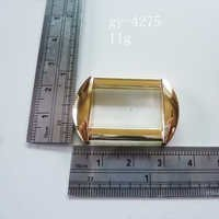Square Ring Polished