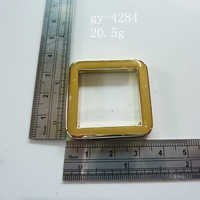 Polished Square Rings 25Mm 2.5Cm