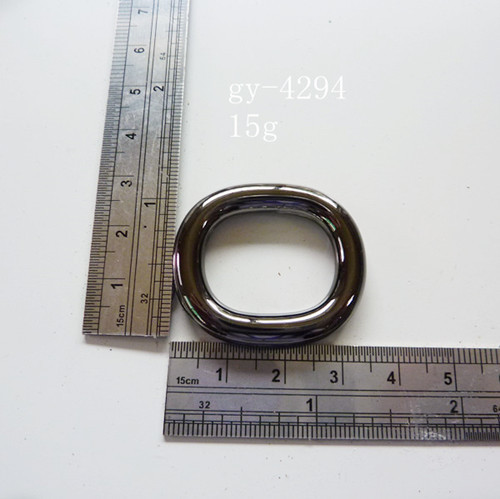 O Rings Gun Metal Polished Purse Fittings