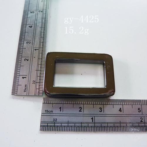 Gun Metal Square Ring Polished