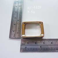 Prominent Square Ring Light Gold