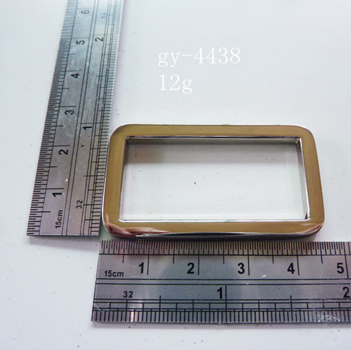Square Ring 40Mm Nickel Purse Hardware Accessories