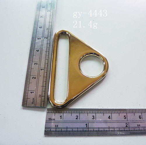Triangle Handbags Rings Inside Round Shape