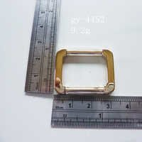 Gold Square Handbag Fittings Hardware Buckles