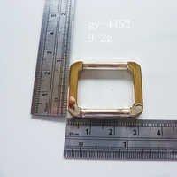 Gold Square Handbag Fittings Hardware Buckles