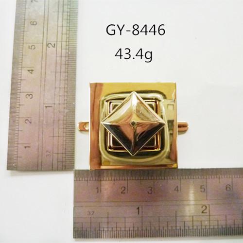 Square Teist Lock Handbags Hardware
