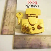 Metal Lock For Handbag Gold Hardware