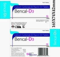 BENCAL D3 TABLETS