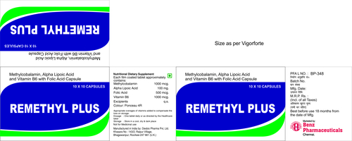REMETHYL PLUS TABLETS