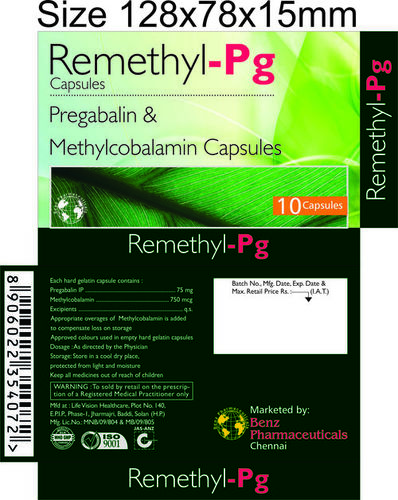 REMETHYL PG C APSULES