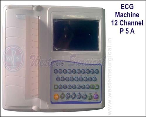 ECG MACHINE 12 CHANNEL