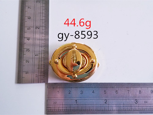 Round Lock Handbags Metal Lock Hardware Accessory