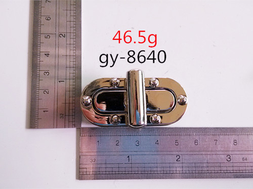 Punk Style Bag Lock Twist Lock Handbags Fittings