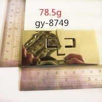 90Mm Polished Twist Lock Light Gold Hardware