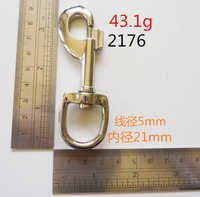 giant white nickel clip hook dog hook hardware