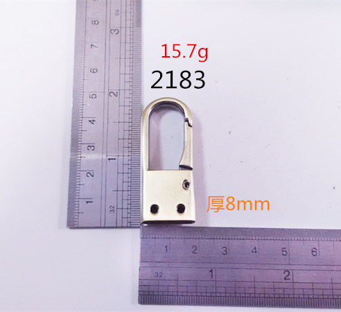 Thickness 8Mm Dog Hook Clips Fittings