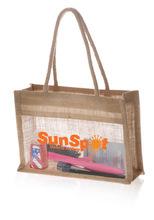 jute cosmetic bags