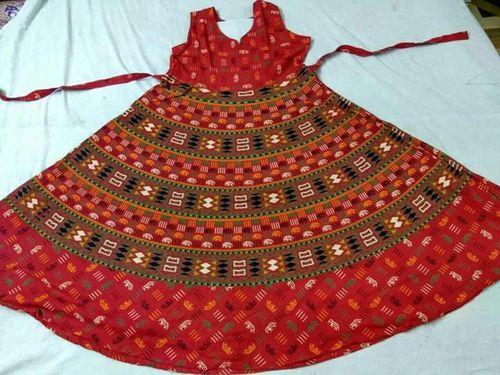 Jaipuri Printed Dress