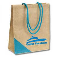 printed burlap bags
