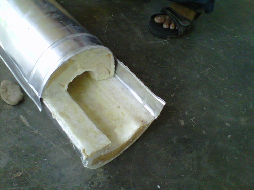 Aluminium Cladding Section Pipe