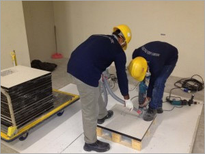 Pedestals Installation Services