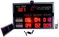 Solar Cricket Aussie Rules LED Scoreboard
