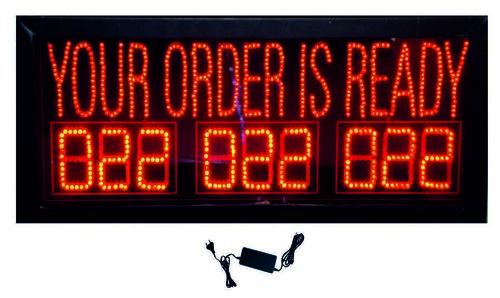 Order Display Restaurant Board