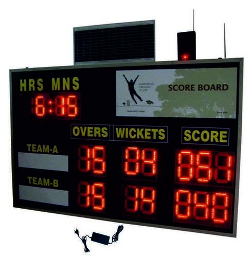Cricket Solar Wireless Scoreboard