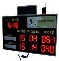 Cricket Solar Wireless Scoreboard