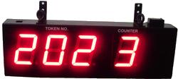Bank Token Display Board